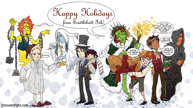 Happy Holidays 2010 from Scuttlebutt Ink