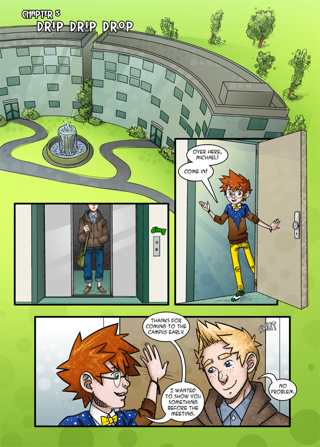 Chapter 5: Drip Drip Drop – Page 1