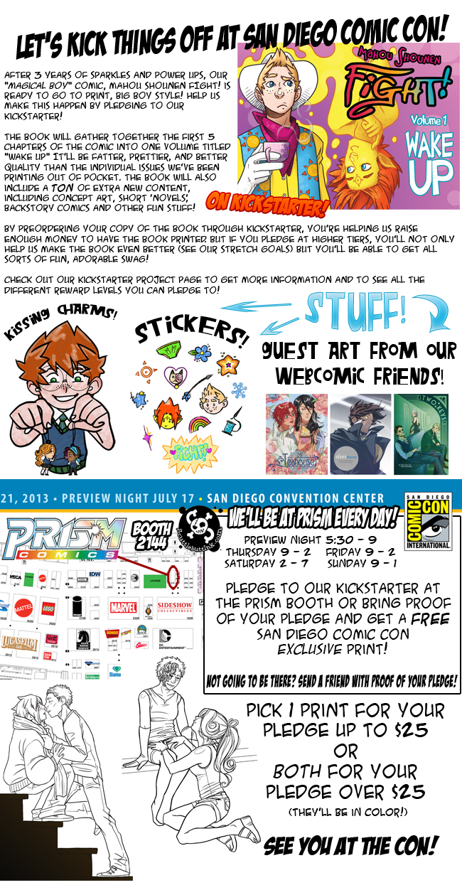 San Diego Comic Con… AND A BOOK!